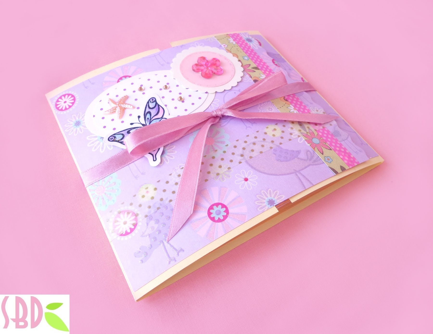 Scrapbooking Mini Album Finestre - Windows Mini Album