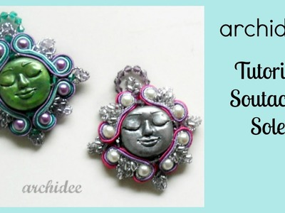 Soutache & SuperDuo | Sutasz | Tutorial Sole Barocco | In collaborazione con Arte e Bijoux