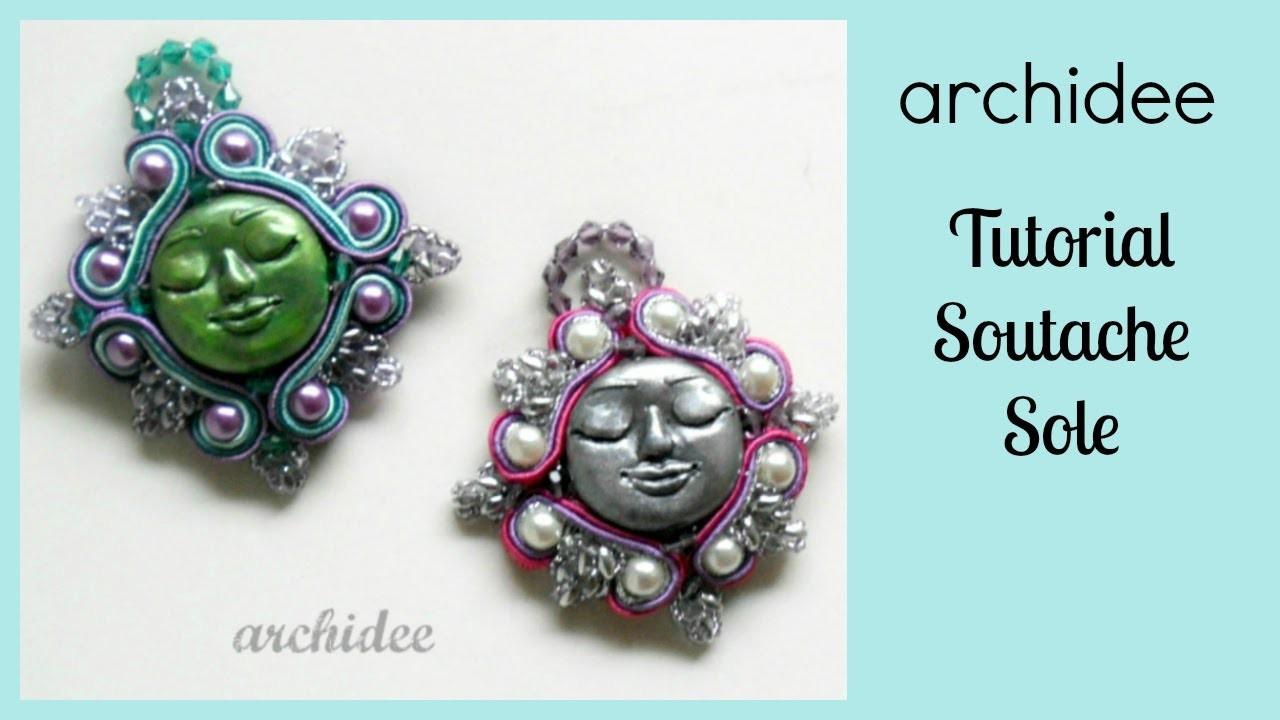 Soutache & SuperDuo | Sutasz | Tutorial Sole Barocco | In collaborazione con Arte e Bijoux