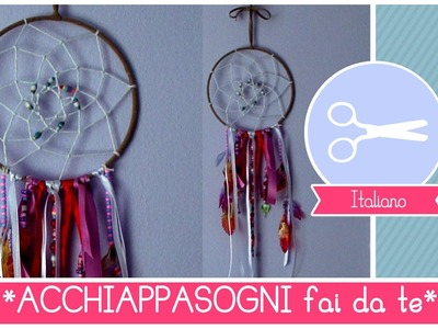 Tutorial come fare un Acchiappasogni - Dreamcatcher DIY by Fantasvale