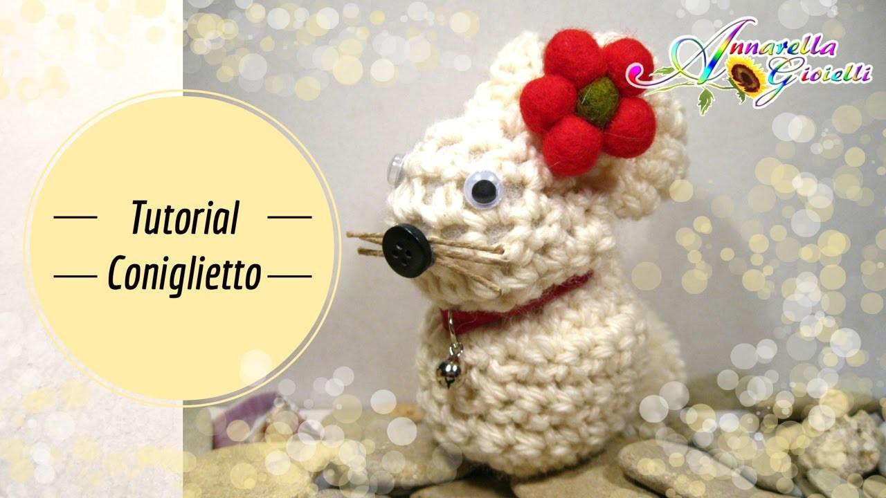 Tutorial coniglietto di Pasqua all'uncinetto | How to crochet a rabbit