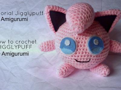 Tutorial Jigglypuff Amigurumi | HOW TO CROCHET JIGGLYPUFF Amigurumi - PART I