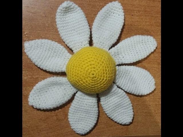 Tutorial margherita puntaspilli all'uncinetto amigurumi - pincushion crochet - acerico  amigurumi