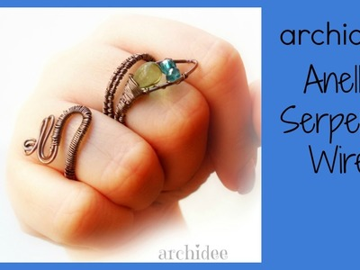 Tutorial | Wire Weaving | Anello Serpente | DIY Snake Ring