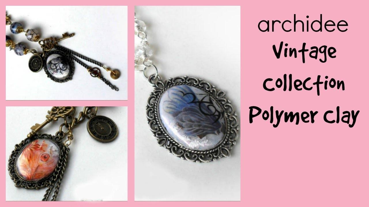 Video Creazioni | Polymer Clay | Vintage Collection | DIY Jewels
