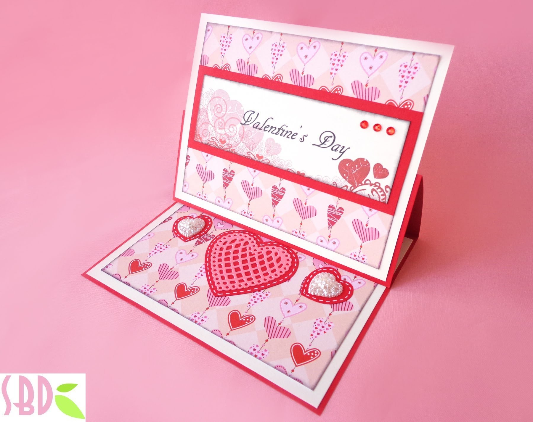 Card San Valentino Stand Up! - Valentine's Stand Up! Card