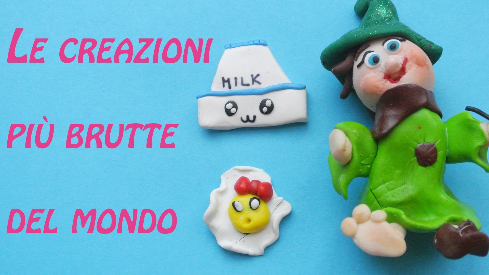 Le mie prime creazioni in fimo | my first creations | polymer clay | update