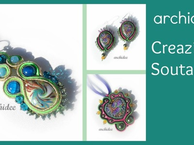 Soutache | Sutasz | Creazioni e Kit creativi | DIY Earrings Necklaces Pendants