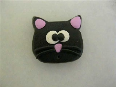 Tutorial gatto fimo - Polymer clay cat
