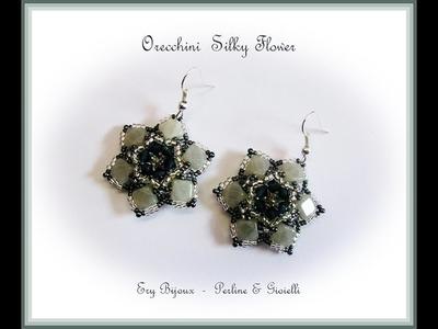 Tutorial | Orecchini Silky Flower [Collaborazione con Perline & Gioielli]