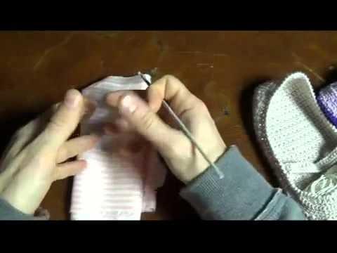 Pantofole all'uncinetto tutorial (intro)