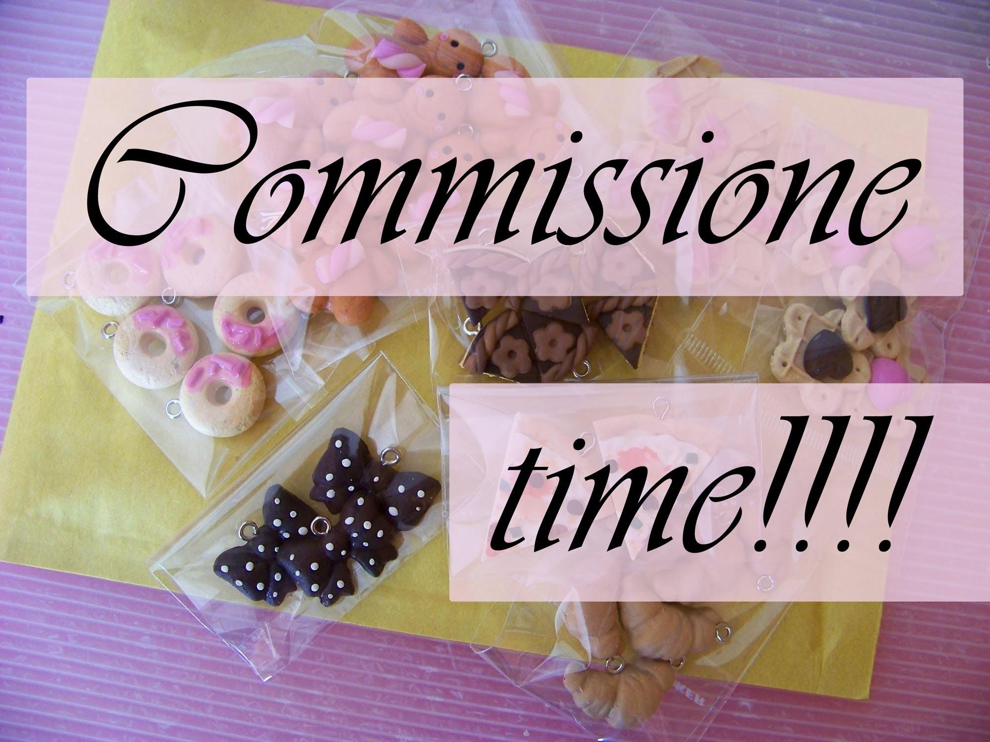 Commissione Time!! - ciondoli sfusi - charms - polymer clay