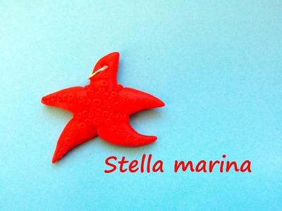 Stella marina. Starfish: Tutorial (Polymer Clay.Pasta Pomerica: Fimo, Cernit, Premo, Kato)