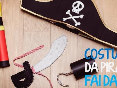 Costume da pirata per bambino fai da te - 2 parte