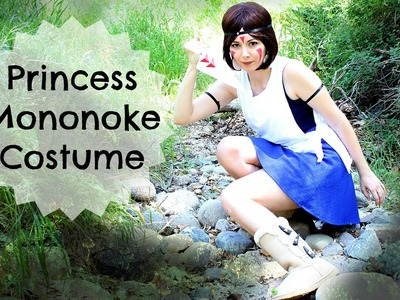 COSTUME DI PRINCESS MONONOKE ❤ TUTORIAL COSPLAY FACILISSIMO