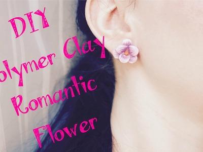 DIY Polymer clay Tutorial Romantic Flower ❀