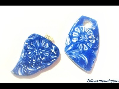 Effetto ceramica.polymer clay faux ceramic