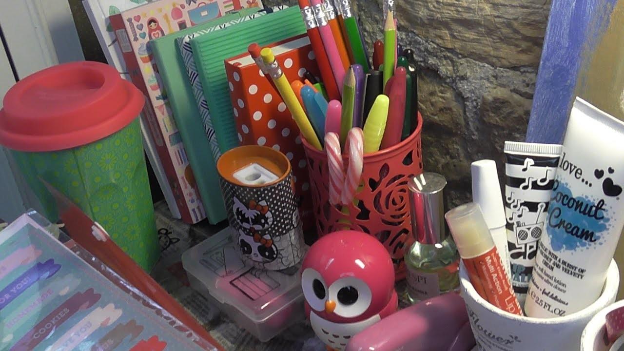 La mia scrivania! Home decor, Filofax, cartoleria & more!
