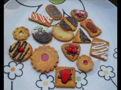 Tutorial biscotti realistici (polymer clay tutorial)