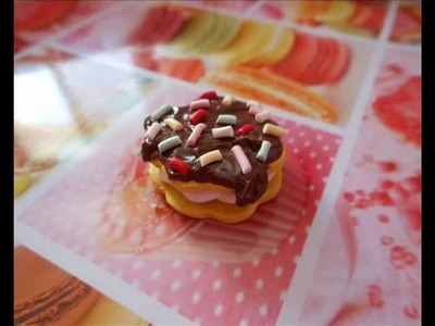 Tutorial dolcetto al cioccolato (tutorial polymer clay)