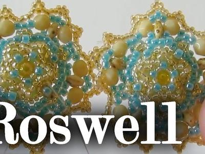 """Tutorial Perline: modulo """"Roswell la vendetta"""". Decorazione alternativa. Tutorial principianti"""