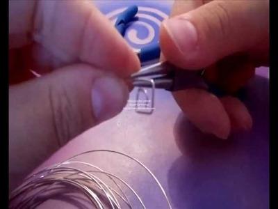 Tutorial ricciolini portafoto o portamemo (tutorial polymer clay)