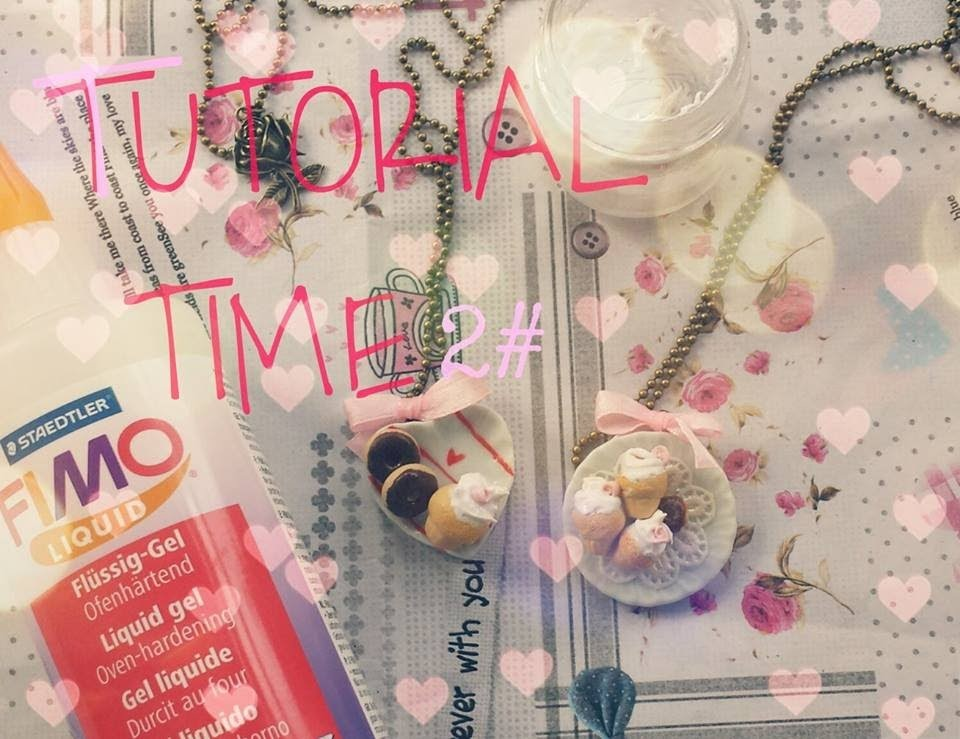 TUTORIAL TIME 2# - Icing Polymer Clay. Glassa.