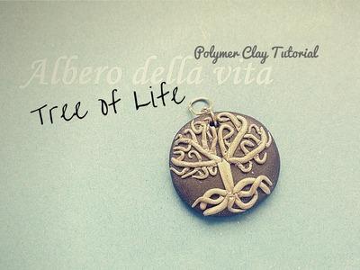 """Albero della Vita in Fimo -  """"Tree of Life"""" Polymer Clay Tutorial"""