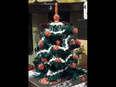 Albero di Natale all'uncinetto - Tutorial amigurumi - Christmas tree crochet -
