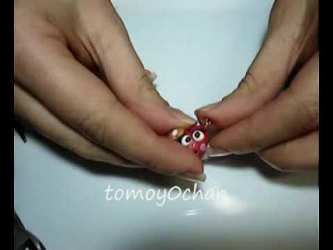 Come lavorare, applicare e fissare i gancetti ai ciondoli in FIMO -- полимерной глины