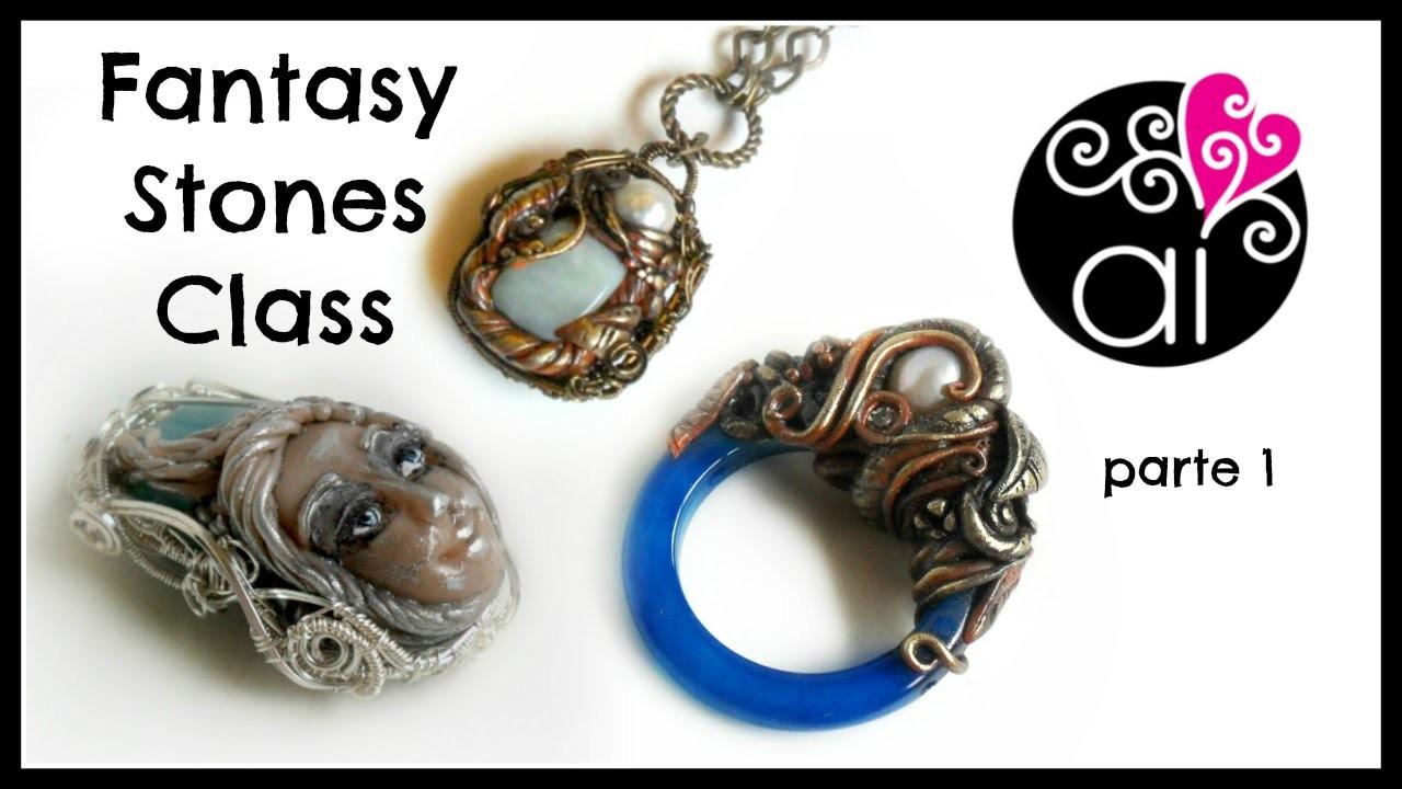 Craft Corner Special | Fantasy Stones Class 1 | Corso Paste Polimeriche e Wire | RM 18 Aprile