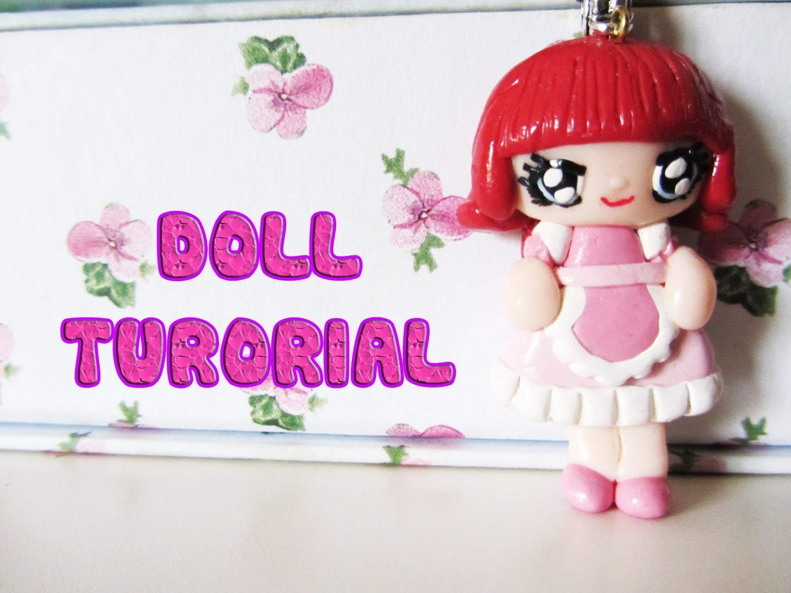 Creare una bambolina in pasta polimerica - HOw to make a polymer clay doll