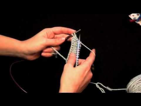 Diritto English -  Knit with English Method (Tecniche Base)
