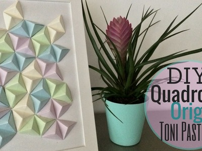 DIY:Quadro Origami Toni Pastello   NurseLinda87
