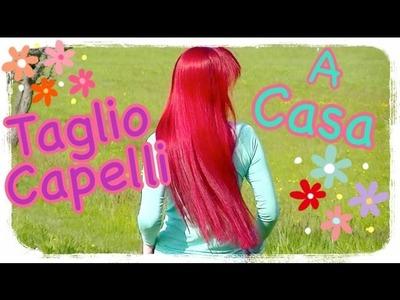 DIY Tutorial Come Mi Taglio I Capelli - Cut Your Own Hair