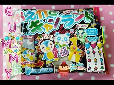 FLOP!! XD Popin Cookin! CARAMELLE! Gummy Diy Drawing Kit Italiano Ita Tutorial