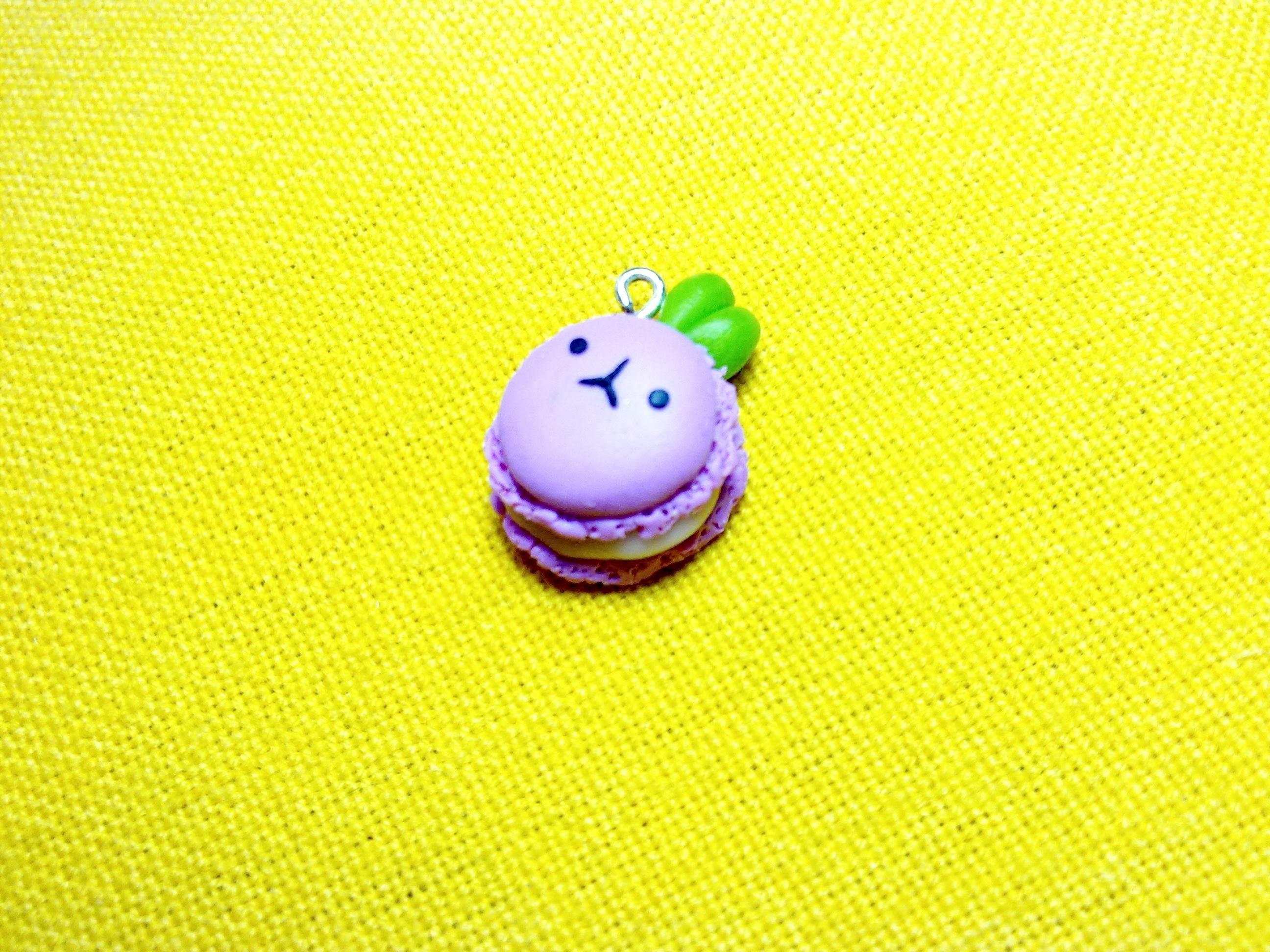 Kawaii Strawberry Bunny Macaron ♡ Coniglietto Macaron Kawaii alla Fragola (Polymer Clay Tutorial)