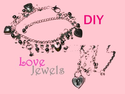 ♡ Love ♡ DIY Bracelet and Necklace ♥ Bracciale e Collana ❥ Jewelry Tutorial