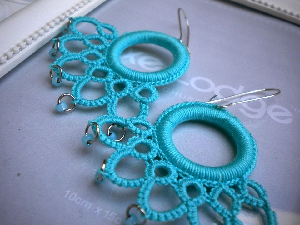 Mini tutorial Crochet: Orecchini Turchese PRIMA PARTE