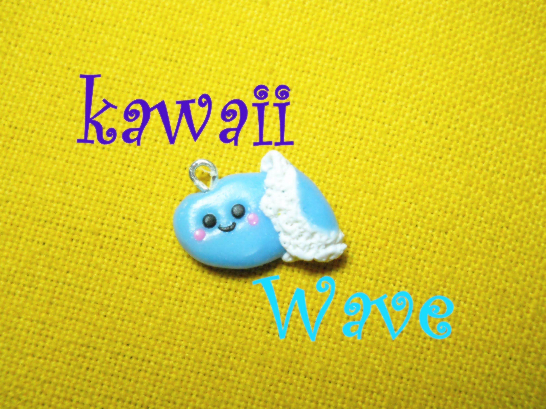 Onda Kawaii ≈ Kawaii Wave ☼  Polymer Clay Tutorial