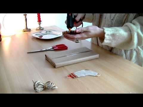 ☃Rubrica NATALE☃ DIY pacco regalo: tutorial gift packaging