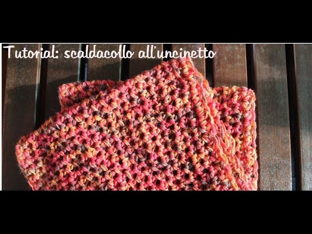 Scaldacollo all'uncinetto semplice e veloce | How to crochet a fast and easy cowl