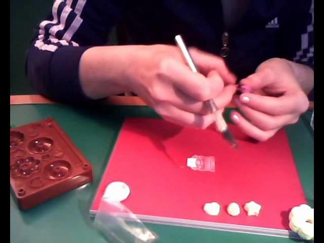 Stampi fuwa e pasta oplà handmade stamp polymer clay