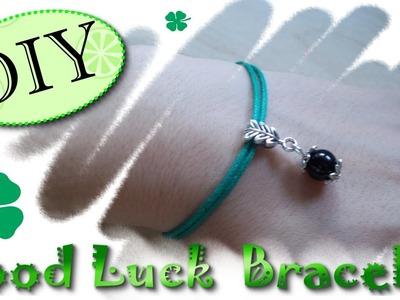 Tutorial: Come Realizzare un Bracciale PortaFortuna Tradizionale -☆- DIY Good Luck Bracelet