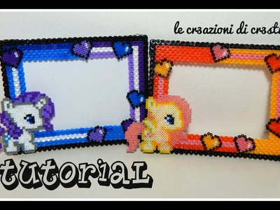 Tutorial Cornicetta My Little Pony con Hama beads - Collaborazione www.perlinedastirare.it
