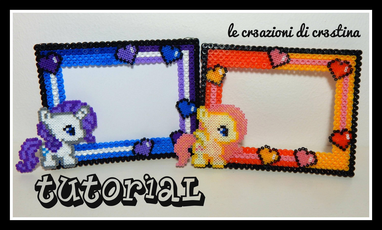 Tutorial Cornicetta My Little Pony con Hama beads - Collaborazione www.perlinedastirare.it