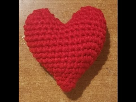 Tutorial: cuore amigurumi - YouTube   360x480