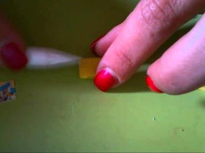 Tutorial (HOW MAKE) ciondolo nesquik in fimo.cernit.polymer clay