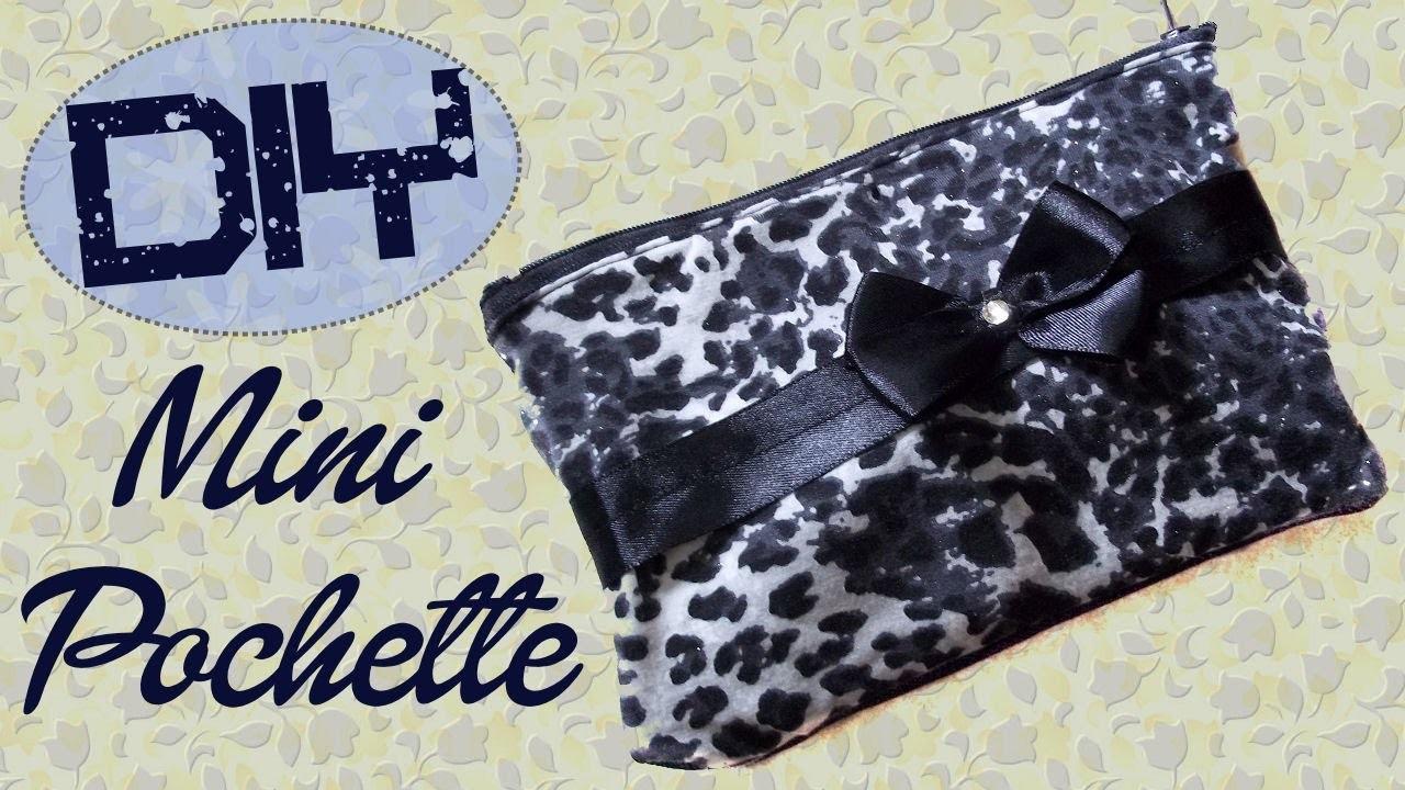 Tutorial: Pochette Fai Da Te con stoffa riciclata - ❤ - DIY Fabric Pochette - ❤ - Ft hippywitch28