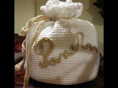 Tutorial portapane all'uncinetto - panera crochet - crochet breadbox